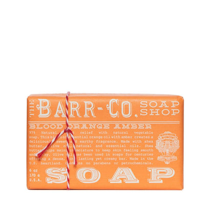 Barr-Co Blood Orange Amber Soap