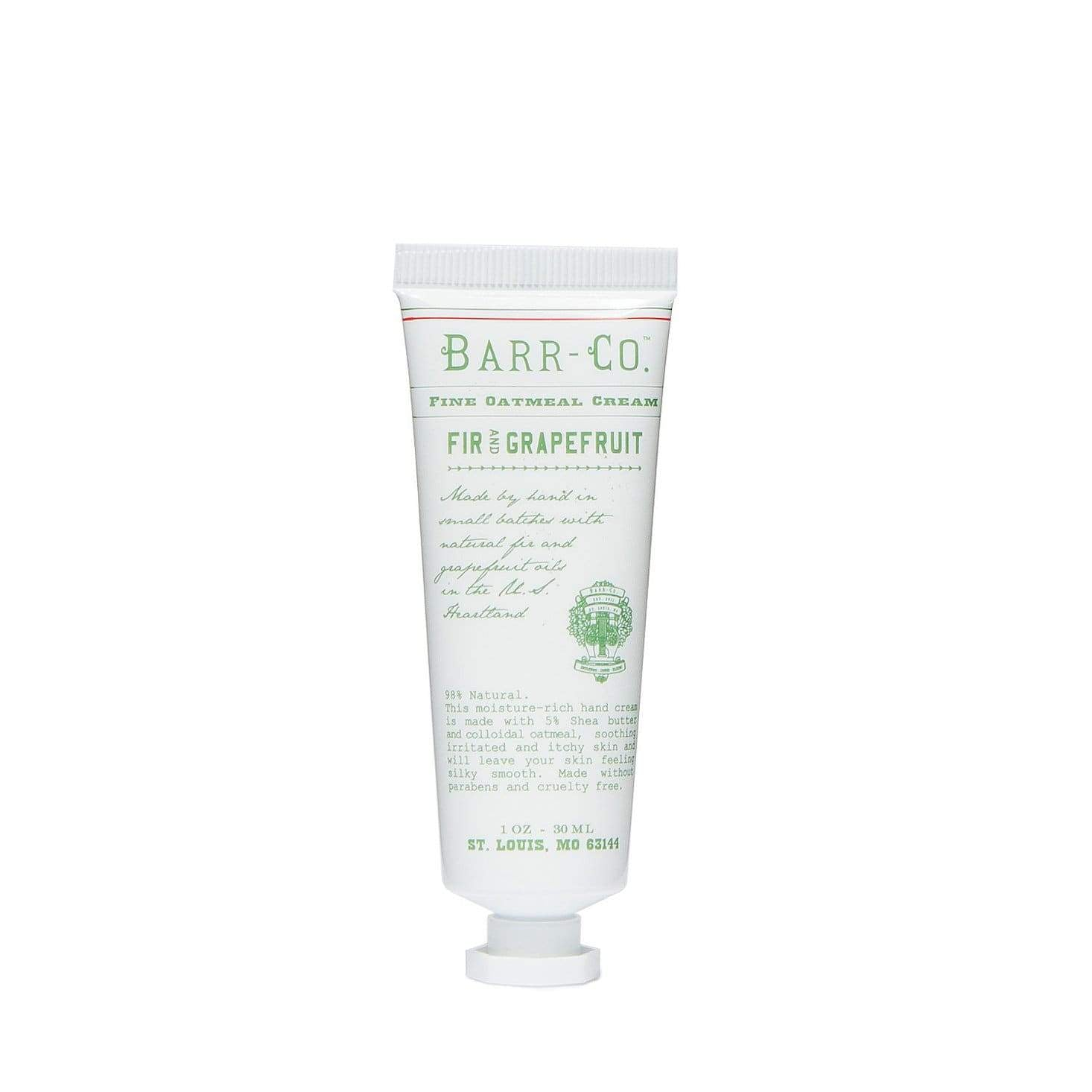 Barr-Co Fir & Grapefruit Mini Hand Cream