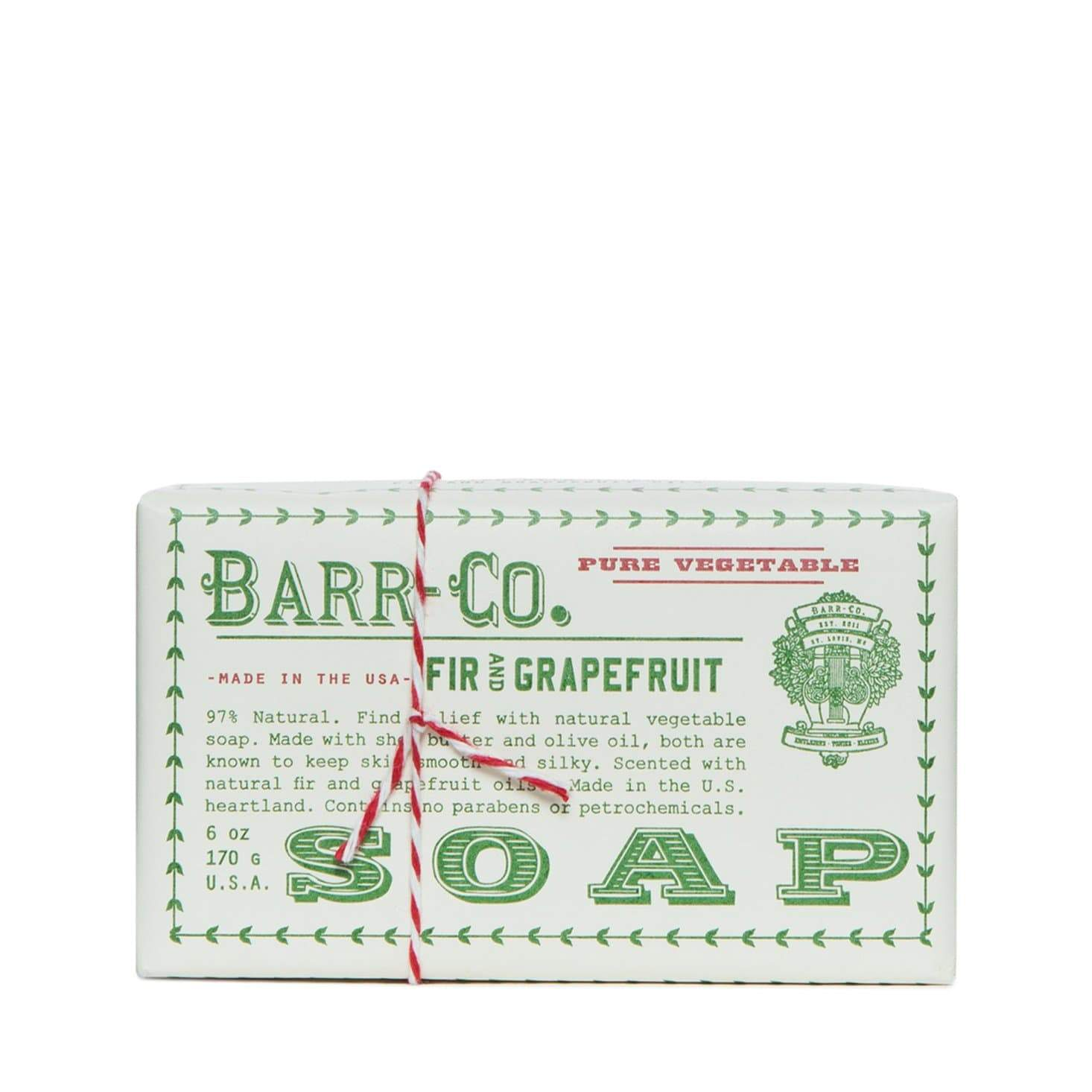Barr-Co Fir & Grapefruit Soap