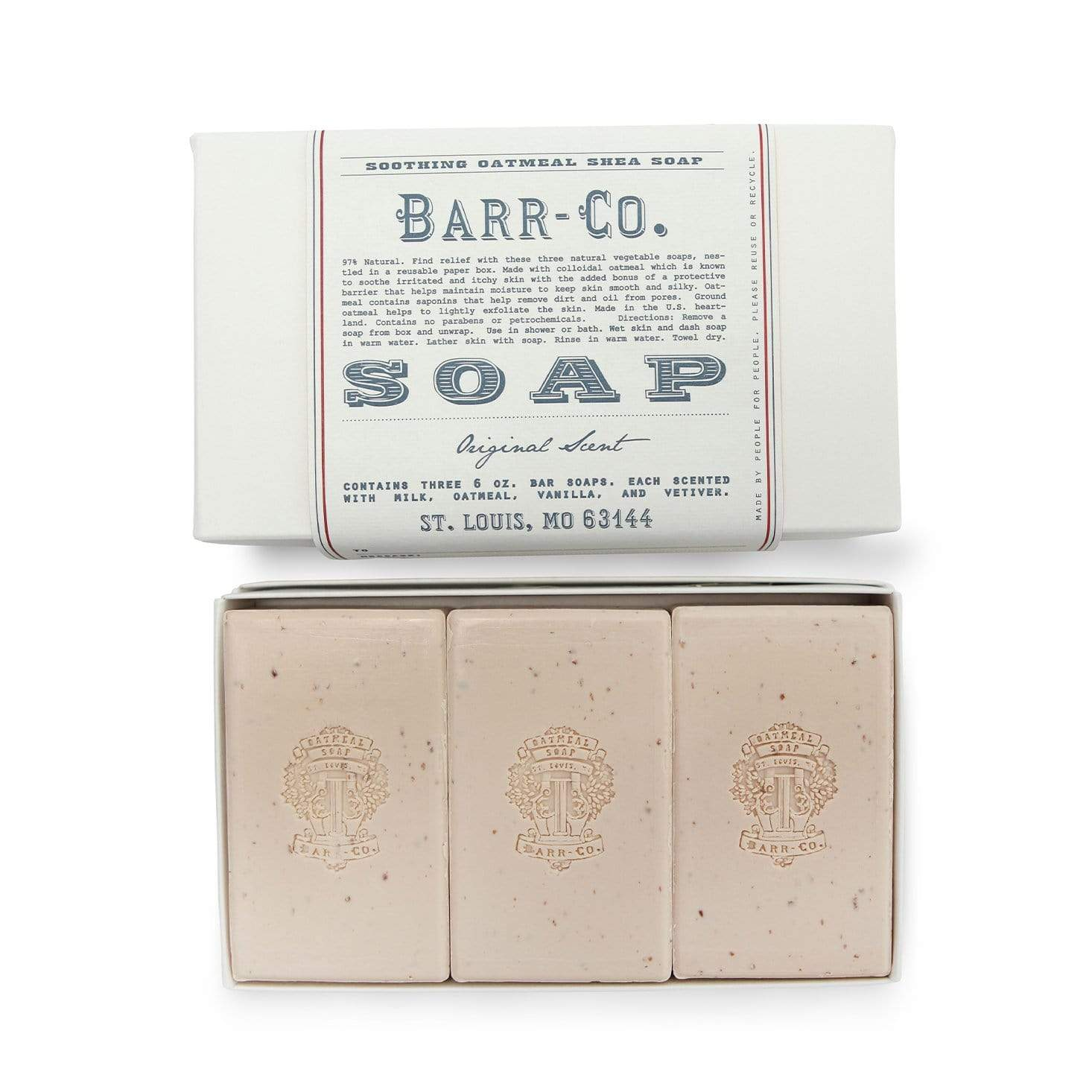 Barr-Co Original Trio Soap Gift Set