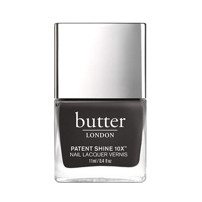 butter LONDON Earl Grey Patent Shine 10X Nail Lacquer