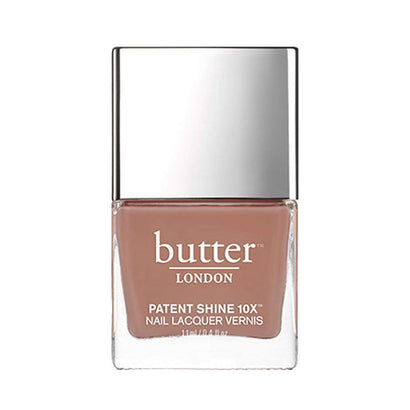 butter LONDON Tea Time Patent Shine 10X Nail Lacquer