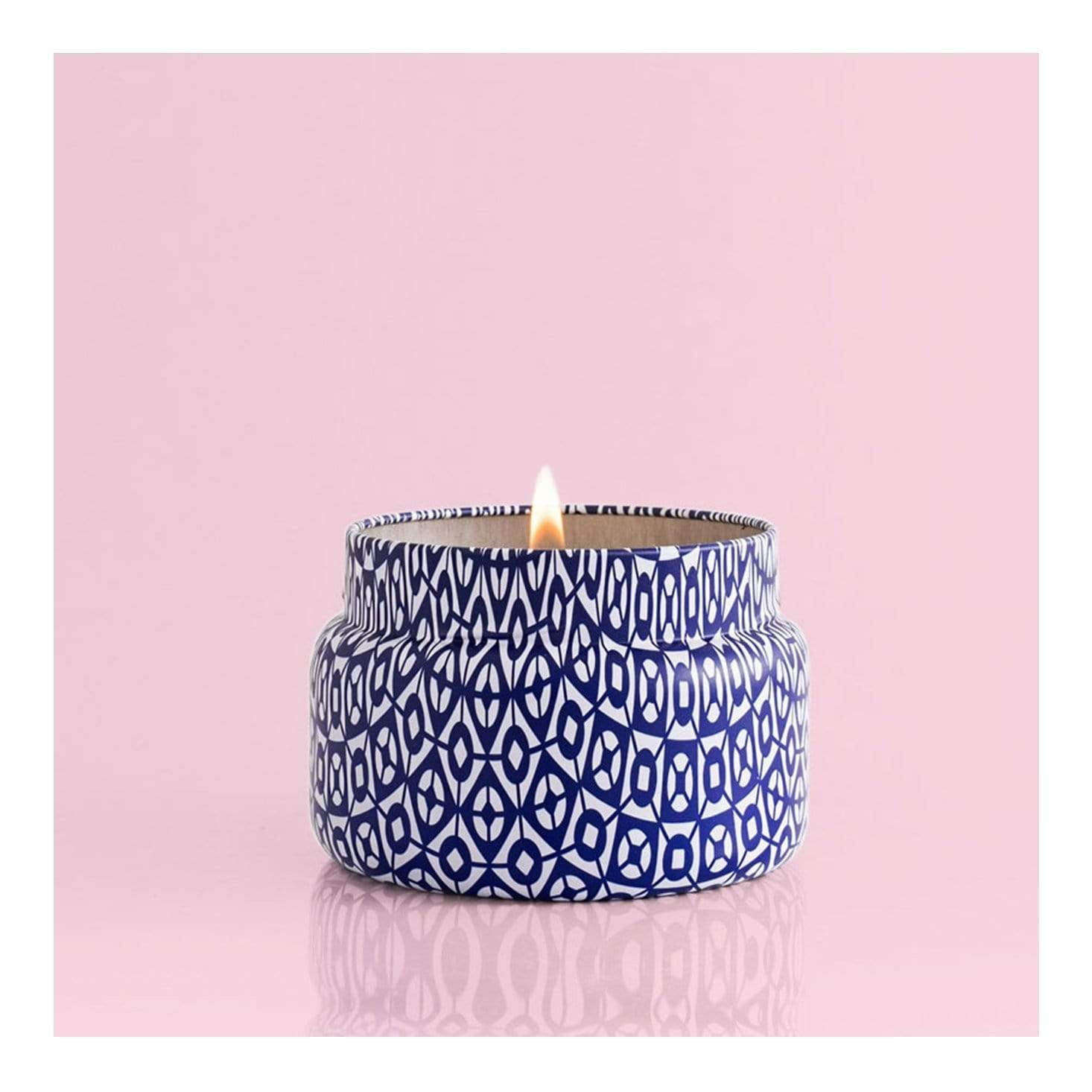 Capri Blue Travel Candle -  Blue Jean