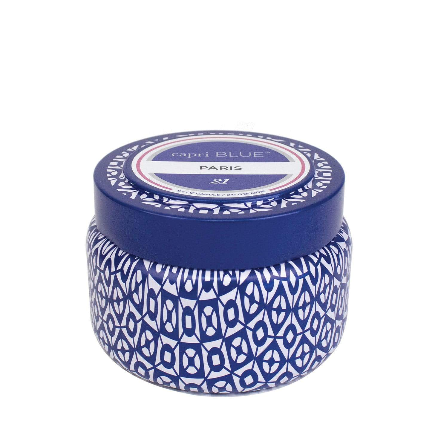 Capri Blue Travel Candle - Paris