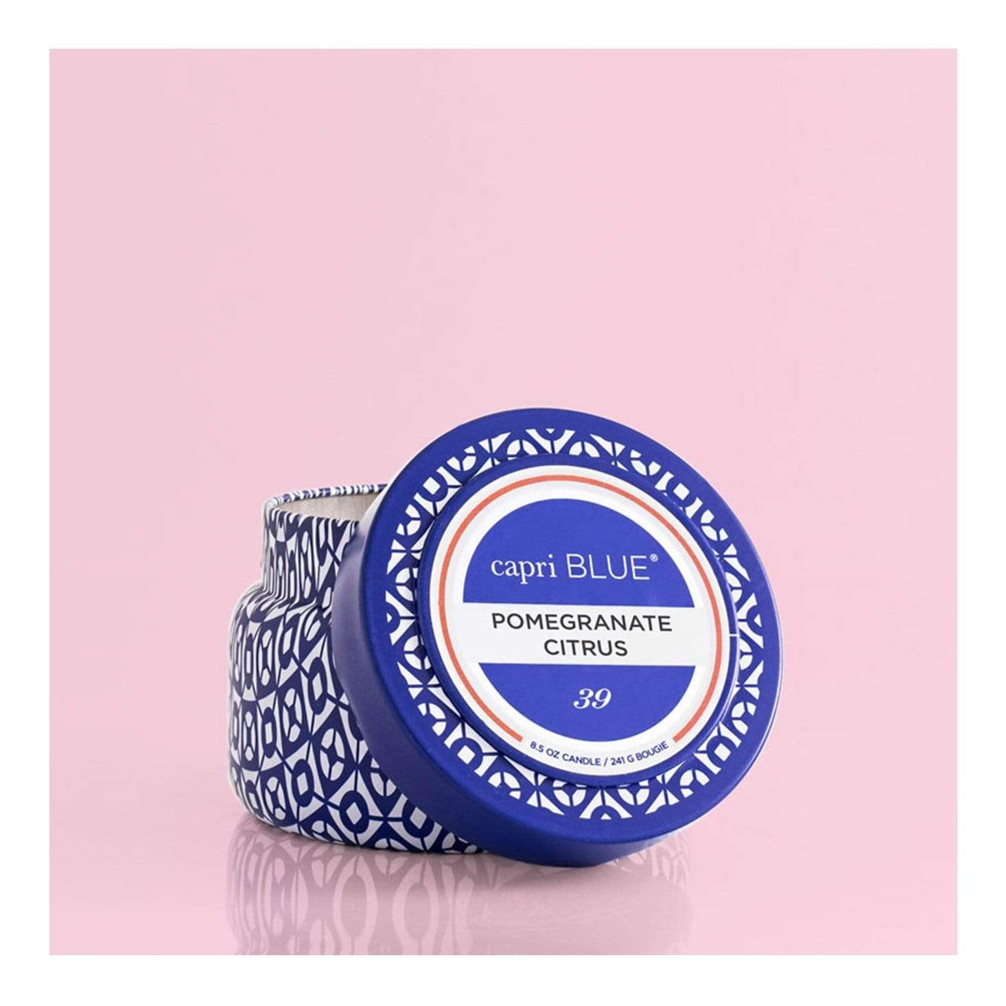 Capri Blue Travel Candle - Pomegranate Citrus