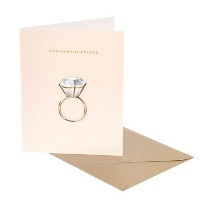 Clap Clap Congratulations Diamond Ring Card