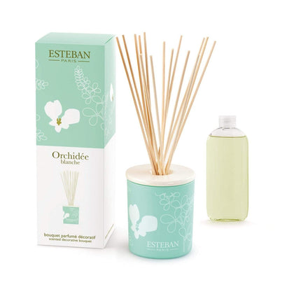 Esteban White Orchid Decorative Diffuser