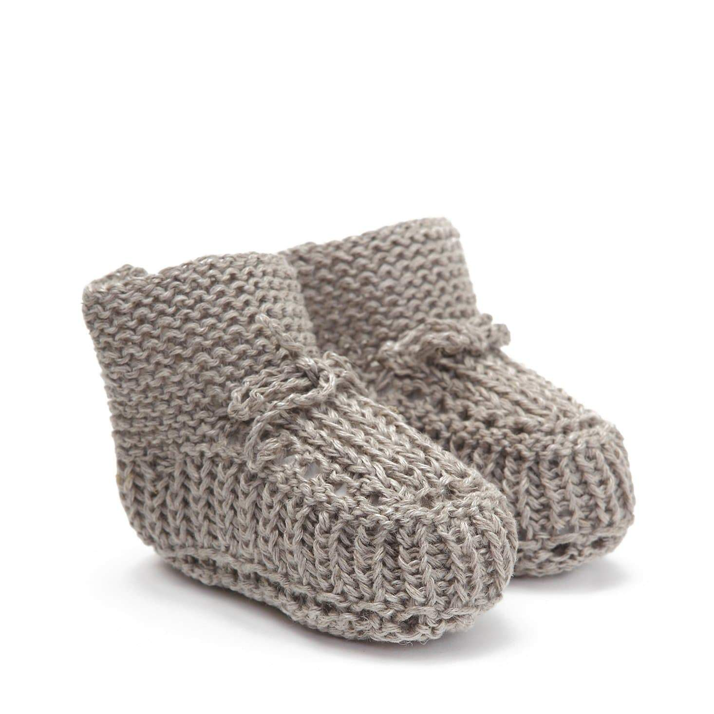 Fog Linen Work Baby Shoes