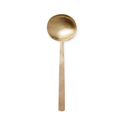 Fog Linen Work Brass Serving Spoon - 24cm