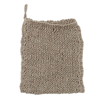 Fog Linen Work Knitted Wash Cloth