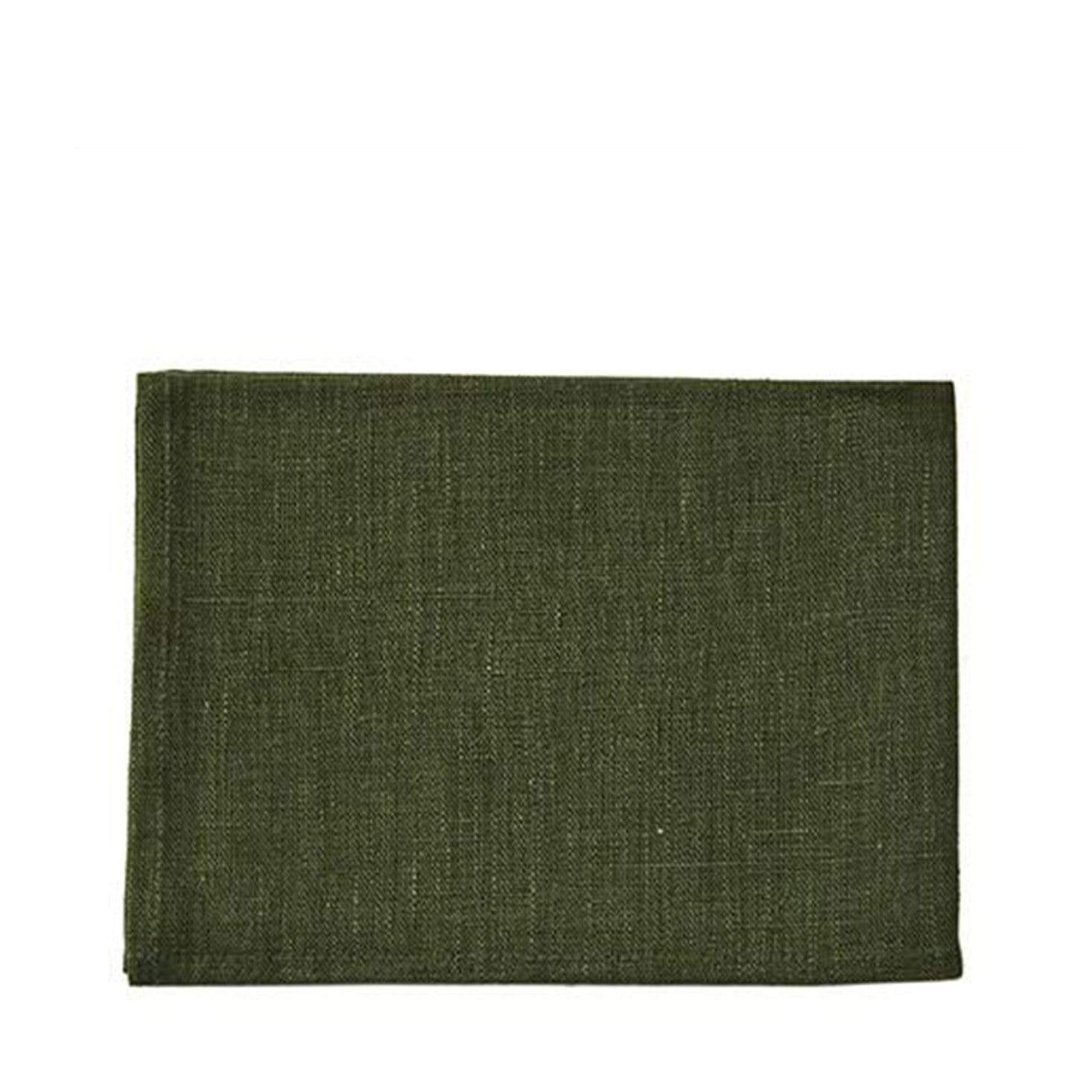 Fog Linen Work Tea Towel - Laurel