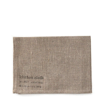 Fog Linen Work Tea Towel - Natural