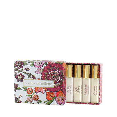 Fragonard EDT Gift Set 5 x 4ml Sprays