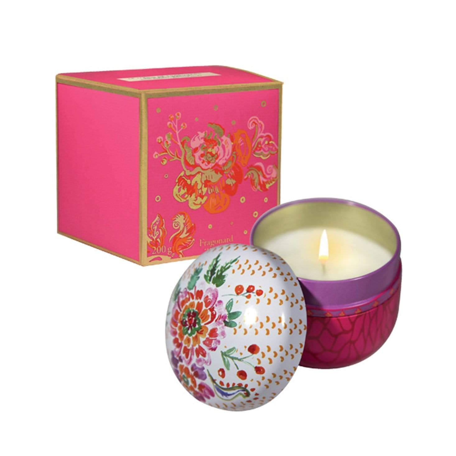 Fragonard Laurier Rose Candle