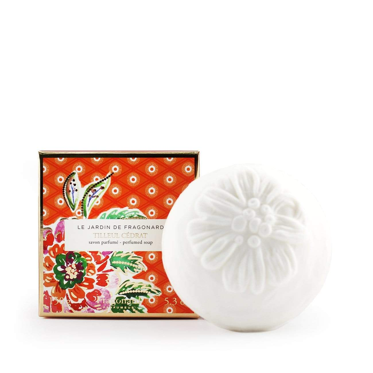 Fragonard Tilleul Cedrat Perfumed Soap
