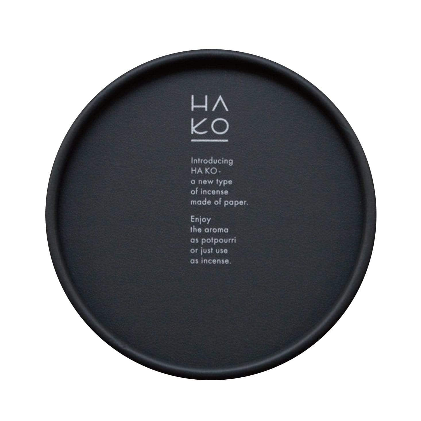 HA KO Black Paper Incense - Sleep (Set of 6)