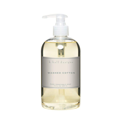 k Hall Washed Cotton Hand Soap