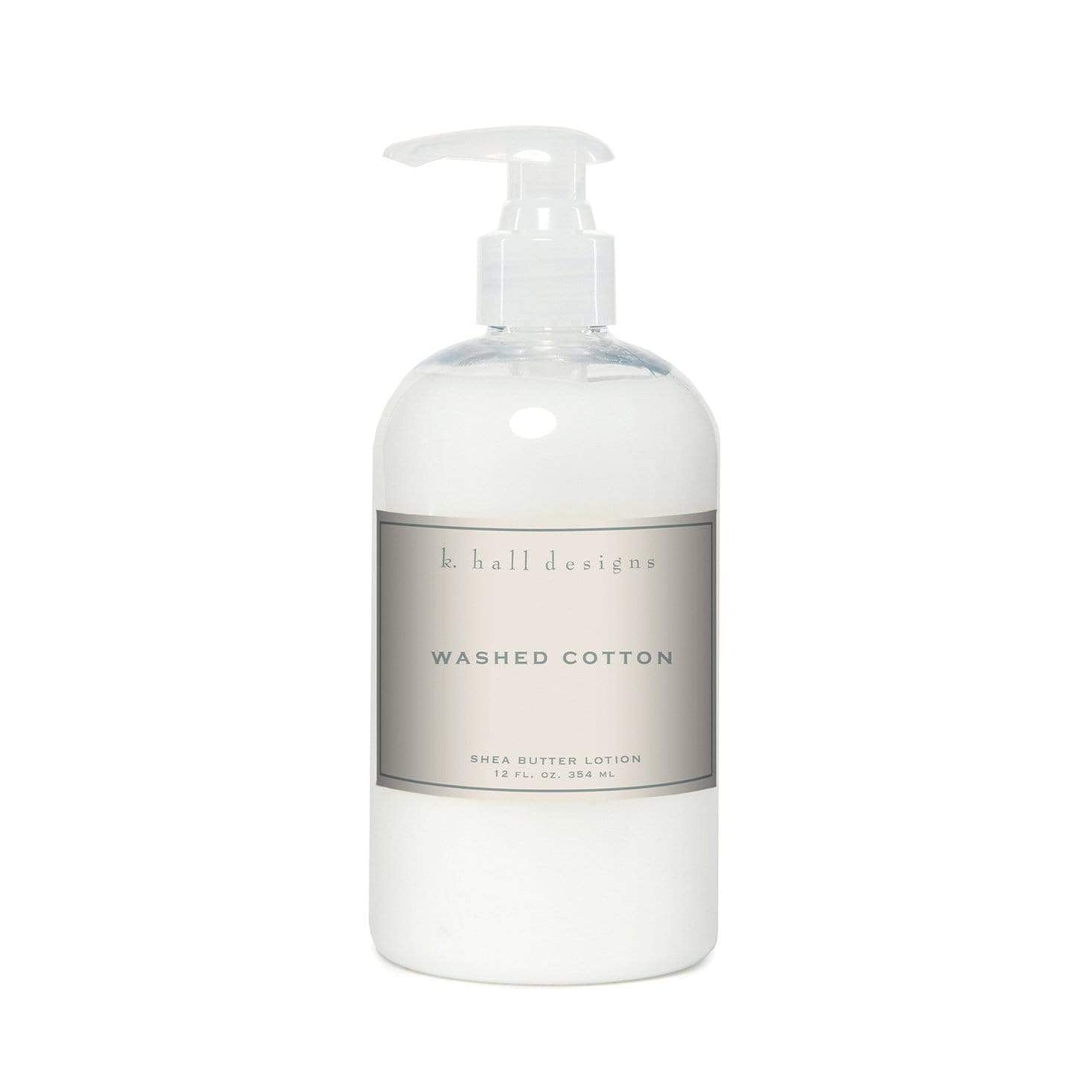 k Hall Washed Cotton Shea Butter Lotion