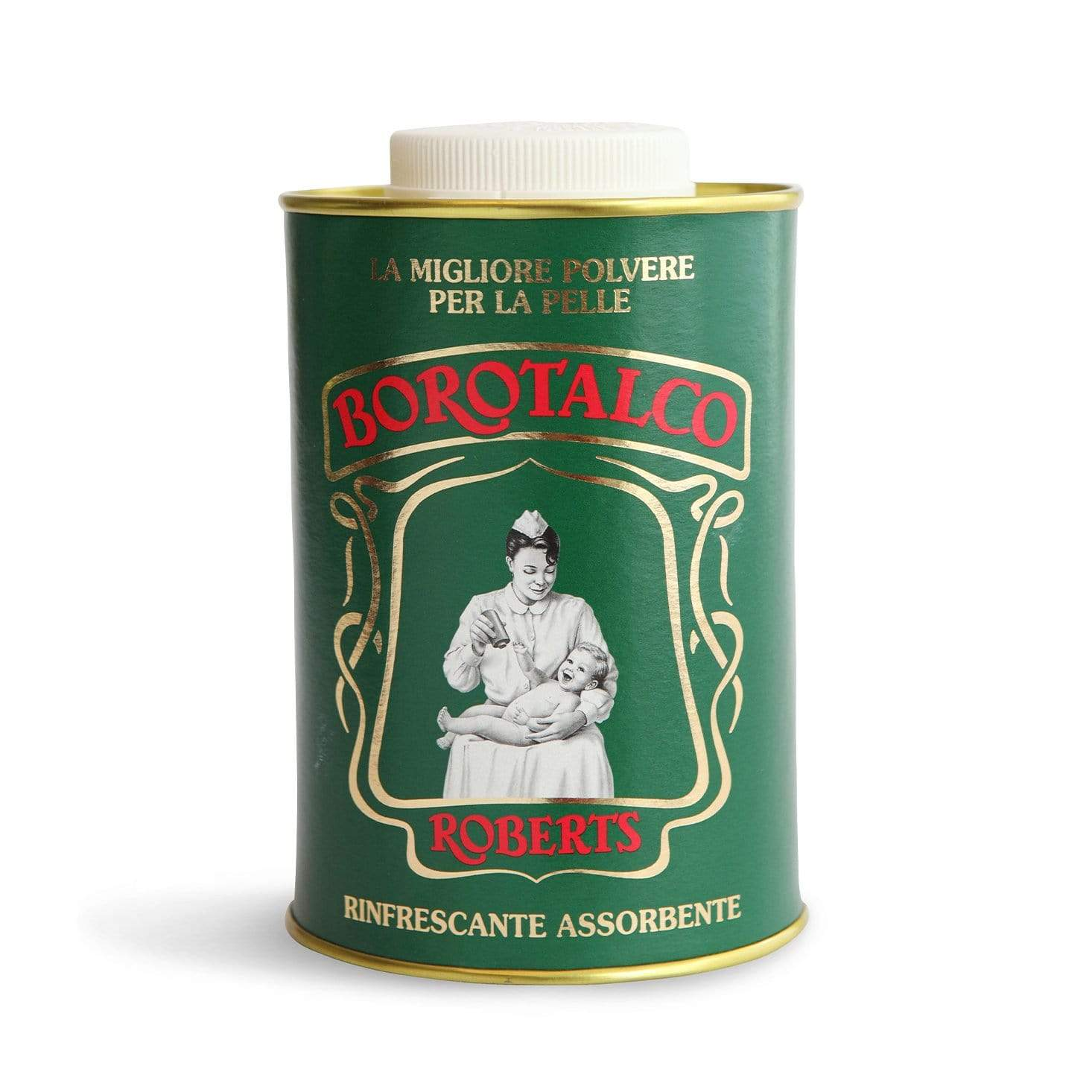 Manetti Roberts Borotalco Talc Powder 500gm