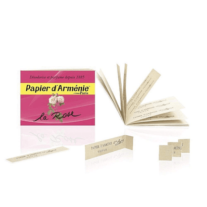 Papier d'Armenie Rose Incense