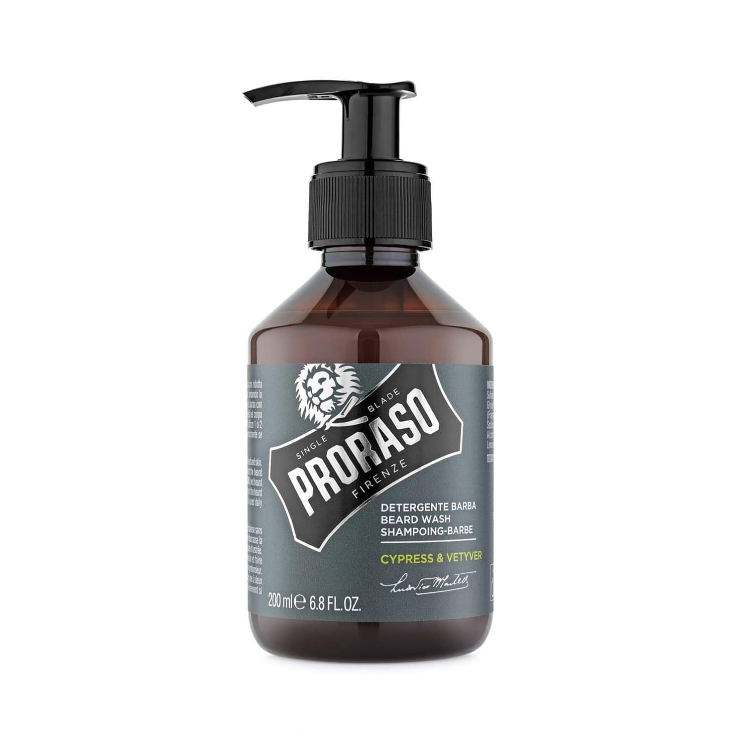 Proraso Beard Wash - Cypress + Vetiver
