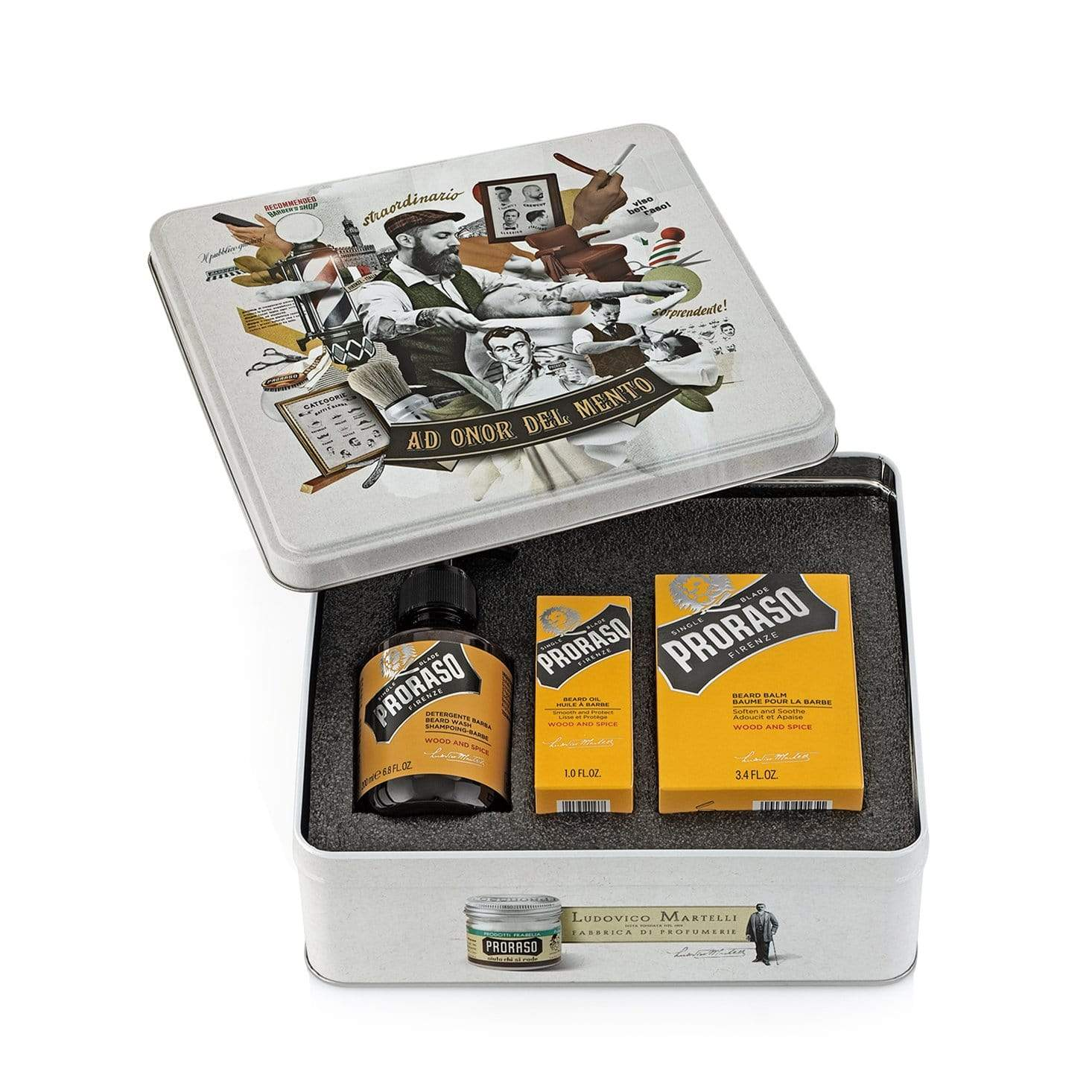 Proraso Wood + Spice Gift Set