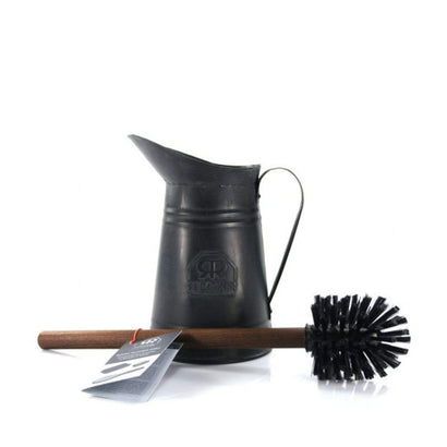 Redecker Metal Toilet Brush Set