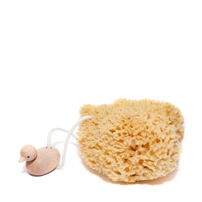 Redecker Natural Sponge with Duck