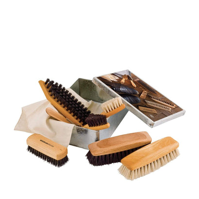 Redecker Shoe Shine Kit - Metal Box