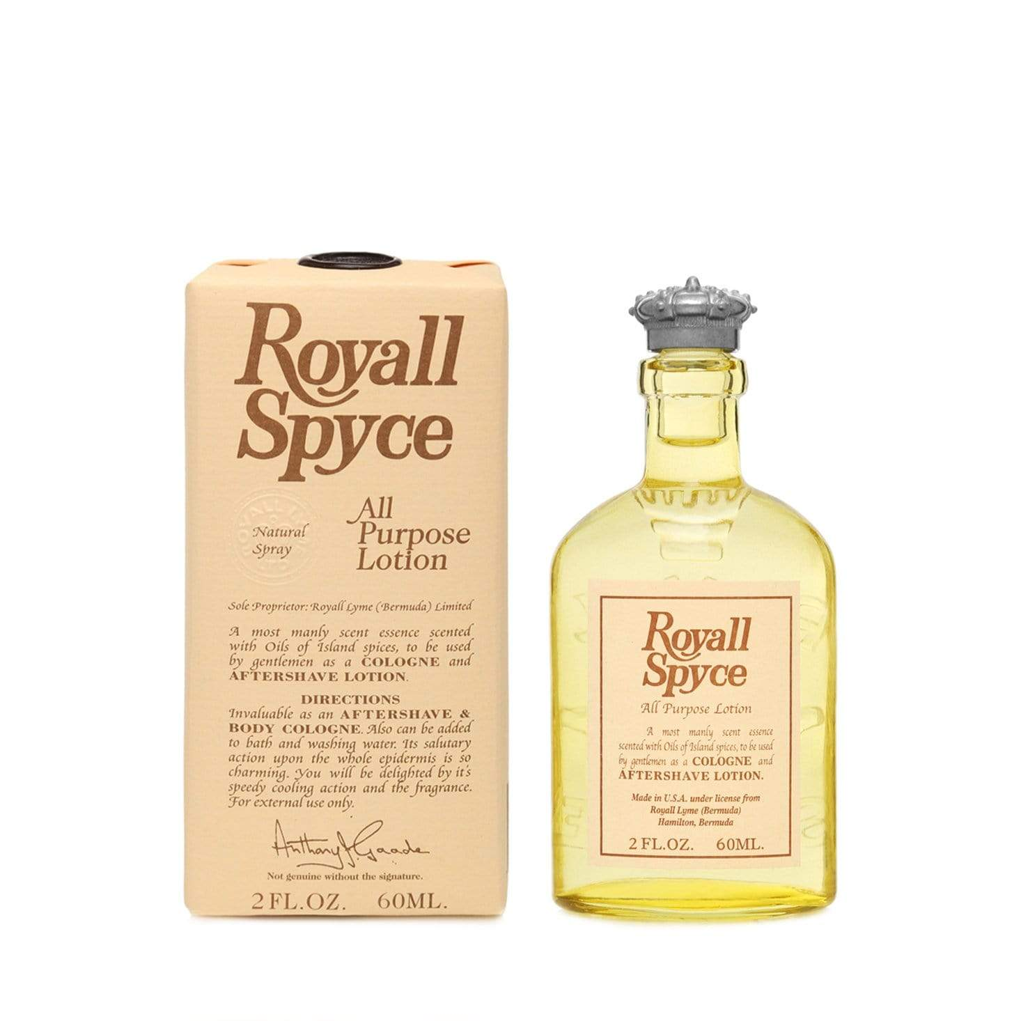 Royall Spyce Splash - 60ml