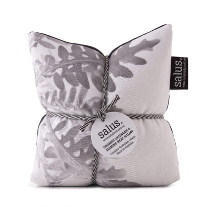 Salus Organic Lavender + Jasmine Heat Pillow - Grey Botanical