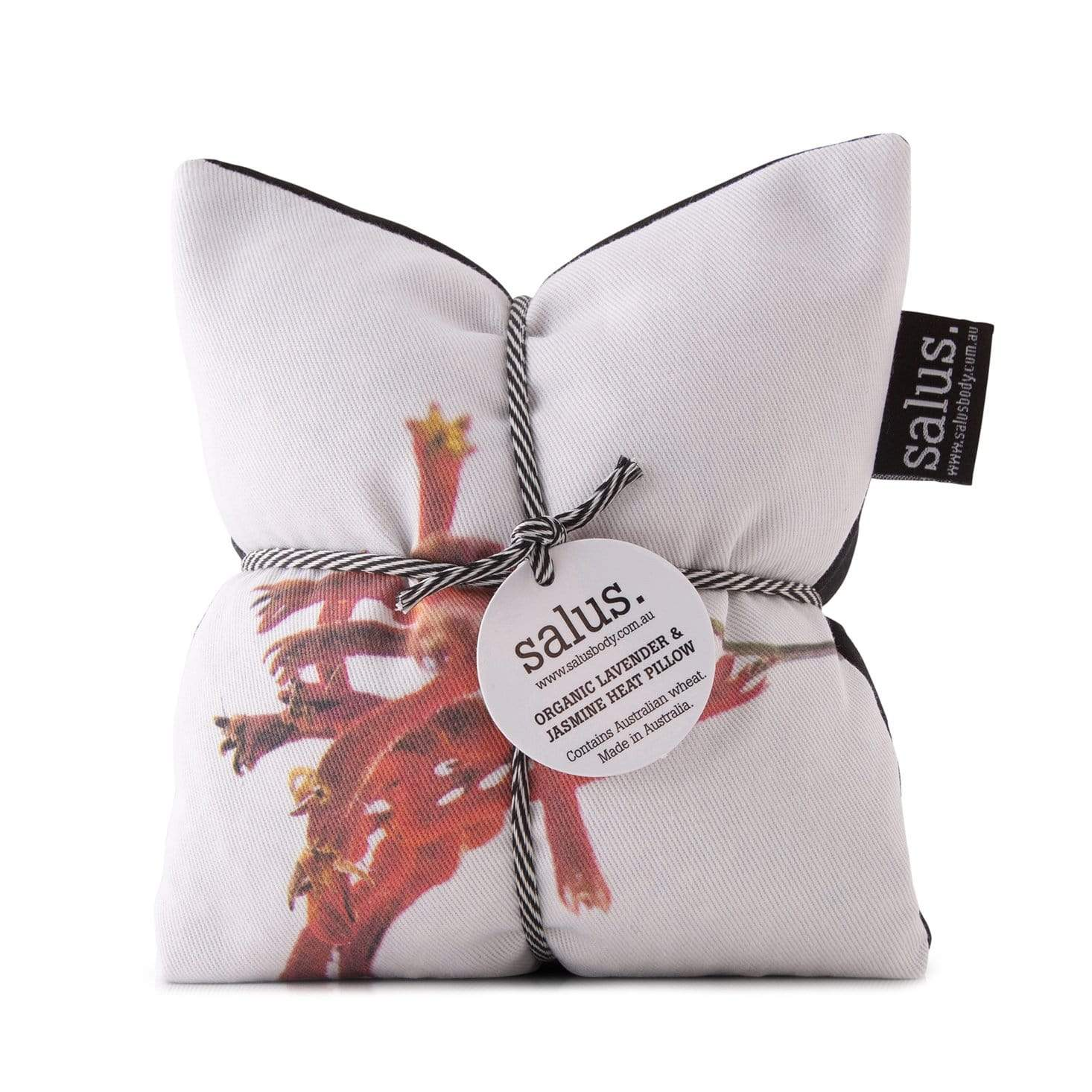 Salus Organic Lavender + Jasmine Heat Pillow - Red Botanical