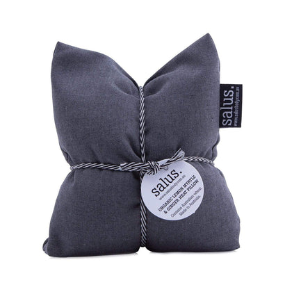 Salus Organic Lemon Myrtle + Ginger Heat Pillow - Grey