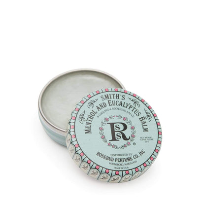 Smith's Rosebud Menthol Eucalyptus Lip Balm - Tin