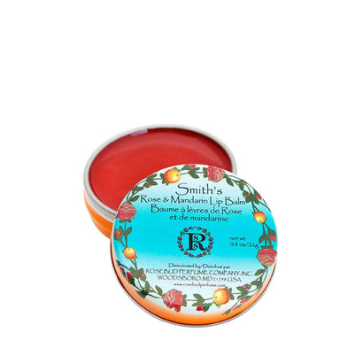 Smith's Rosebud Rose & Mandarin Lip Balm - Tin