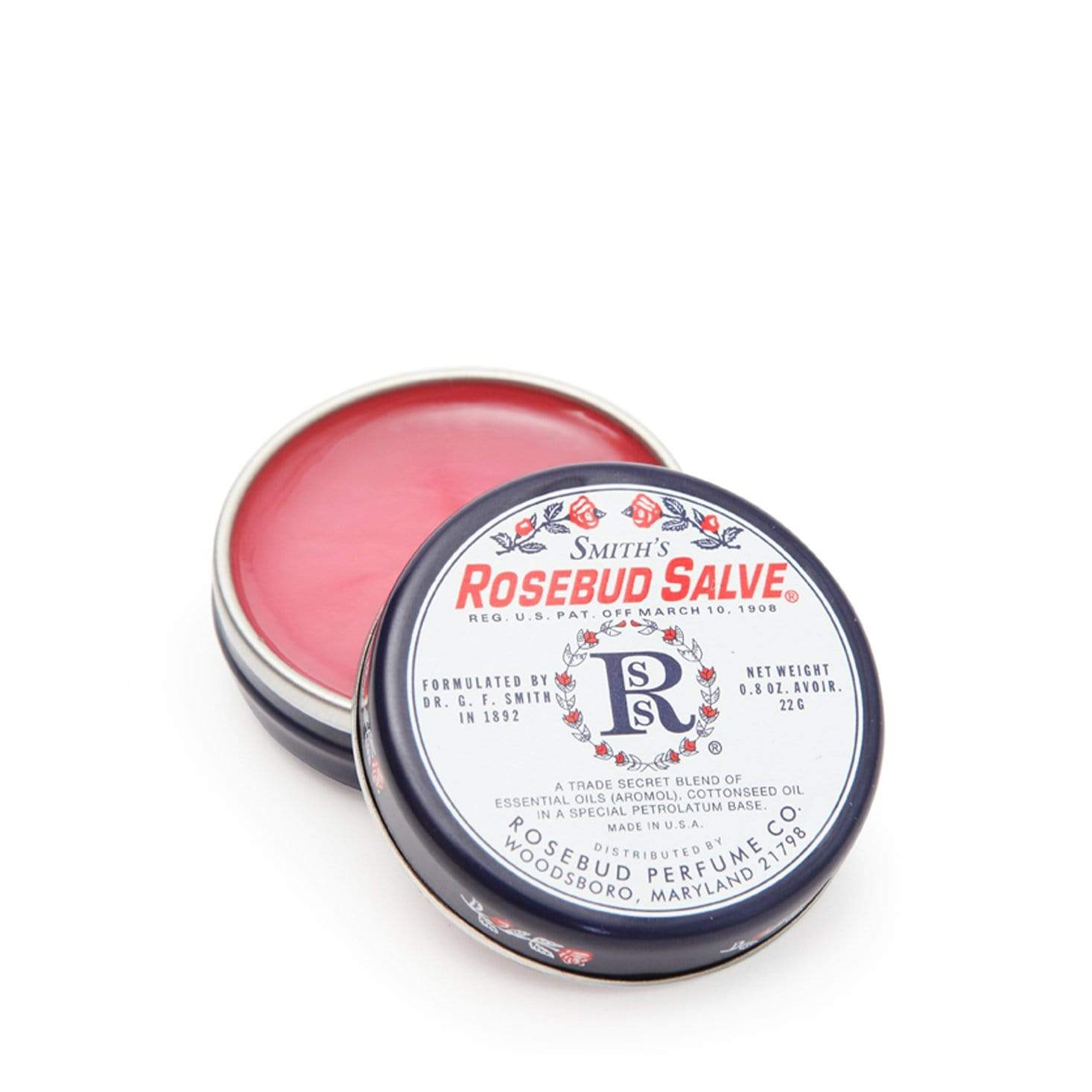 Smith's Rosebud Salve - Tin