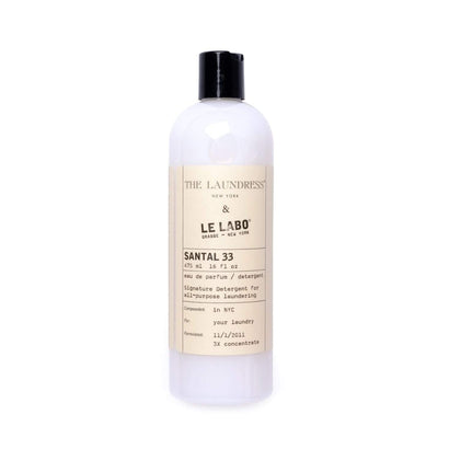 The Laundress + Le Labo Santal 33 Signature Detergent