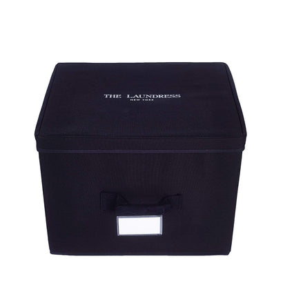 The Laundress Storage Cube - Black