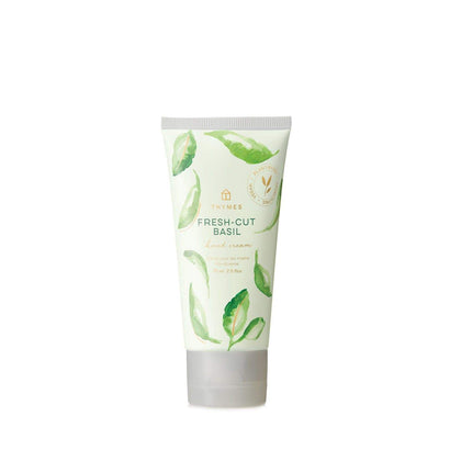 Thymes Fresh Cut Basil Hard Working Hand Creme