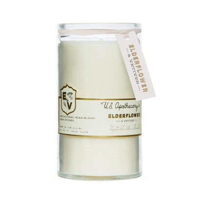 U.S. Apothecary Elderflower 75hr Candle