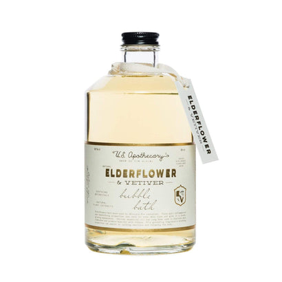 U.S. Apothecary Elderflower Bubble Bath