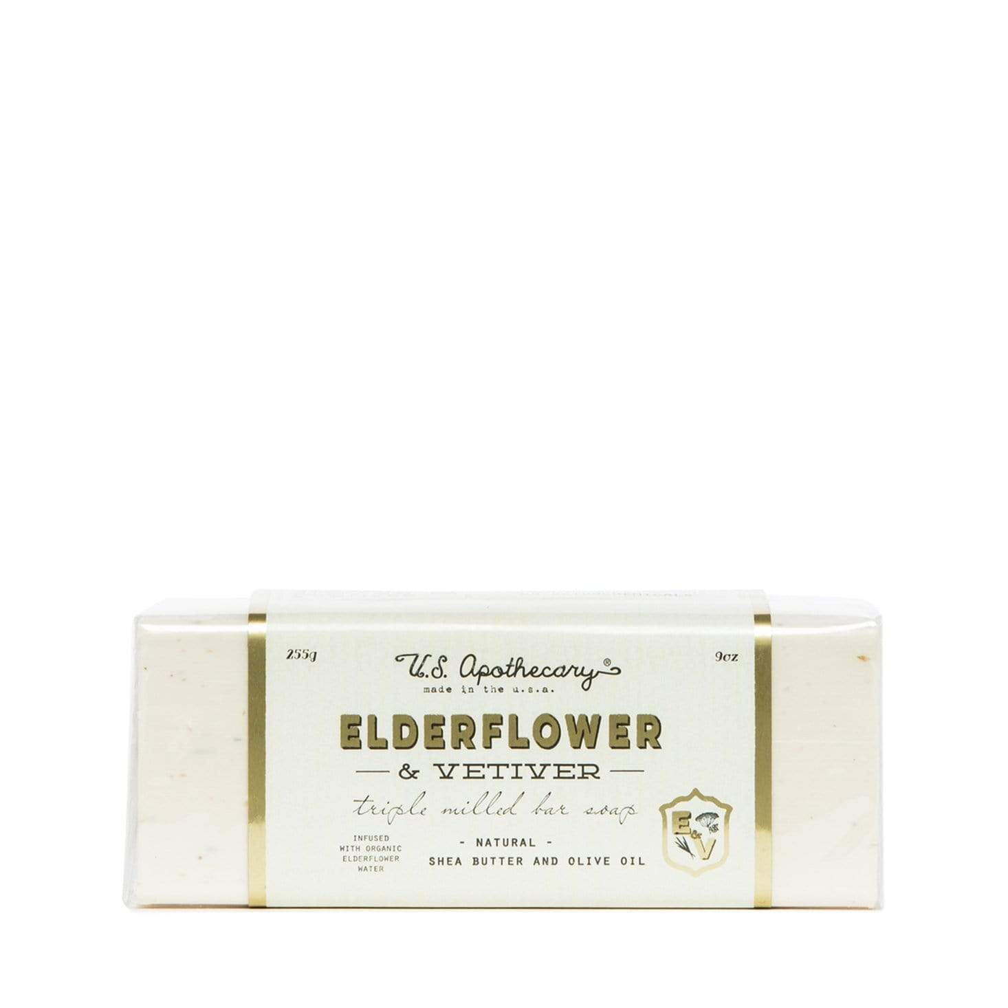 U.S. Apothecary Elderflower Soap