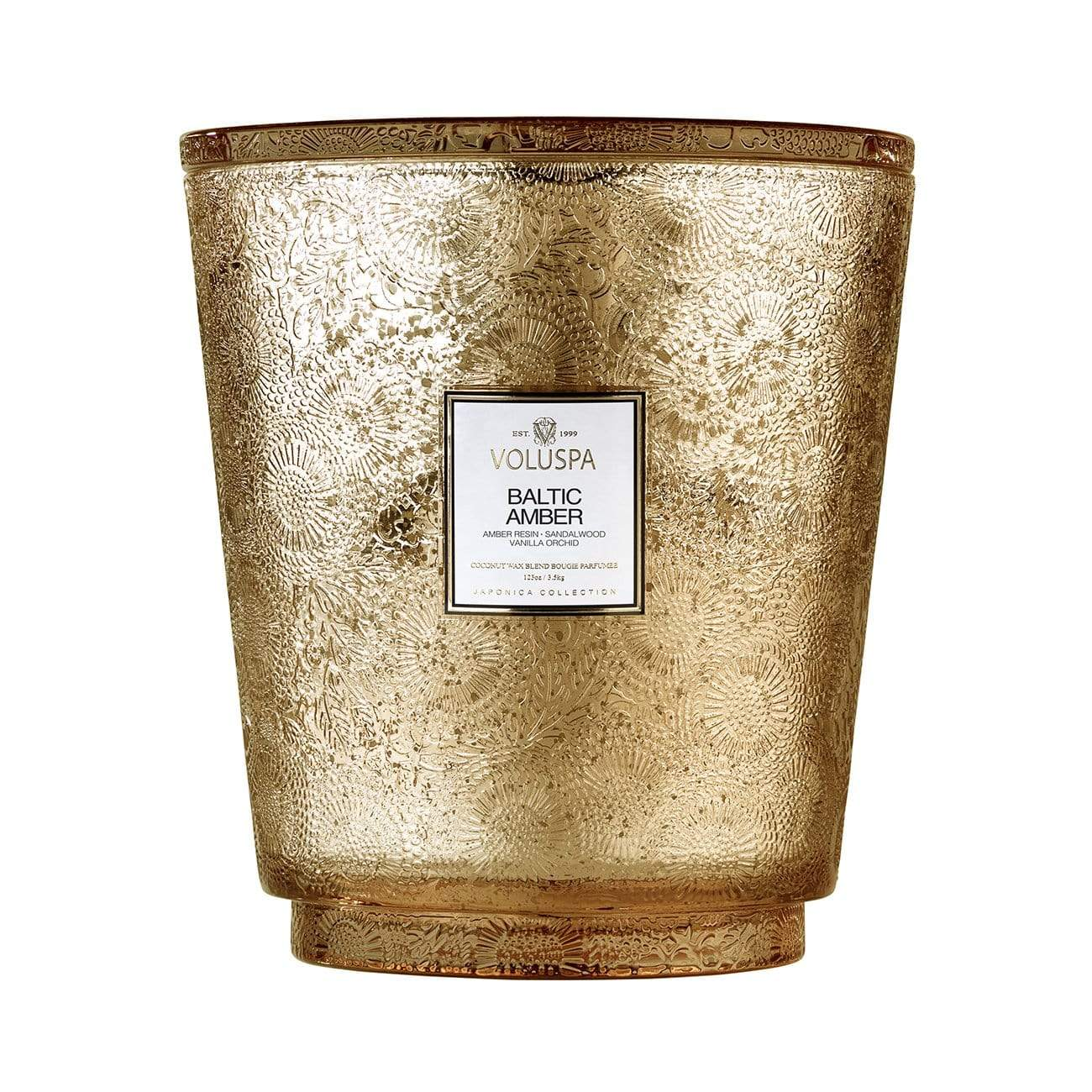 VOLUSPA Baltic Amber 250hr Hearth Candle