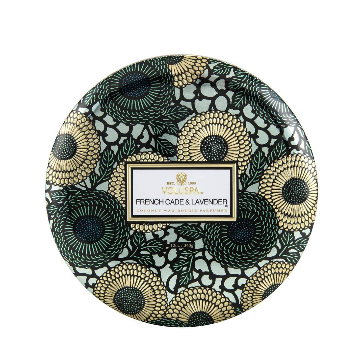 VOLUSPA French Cade & Lavender 3 Wick Candle