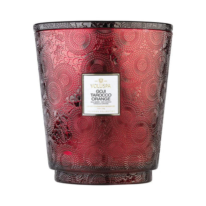 VOLUSPA Goji Tarocco Orange 250hr Hearth Candle