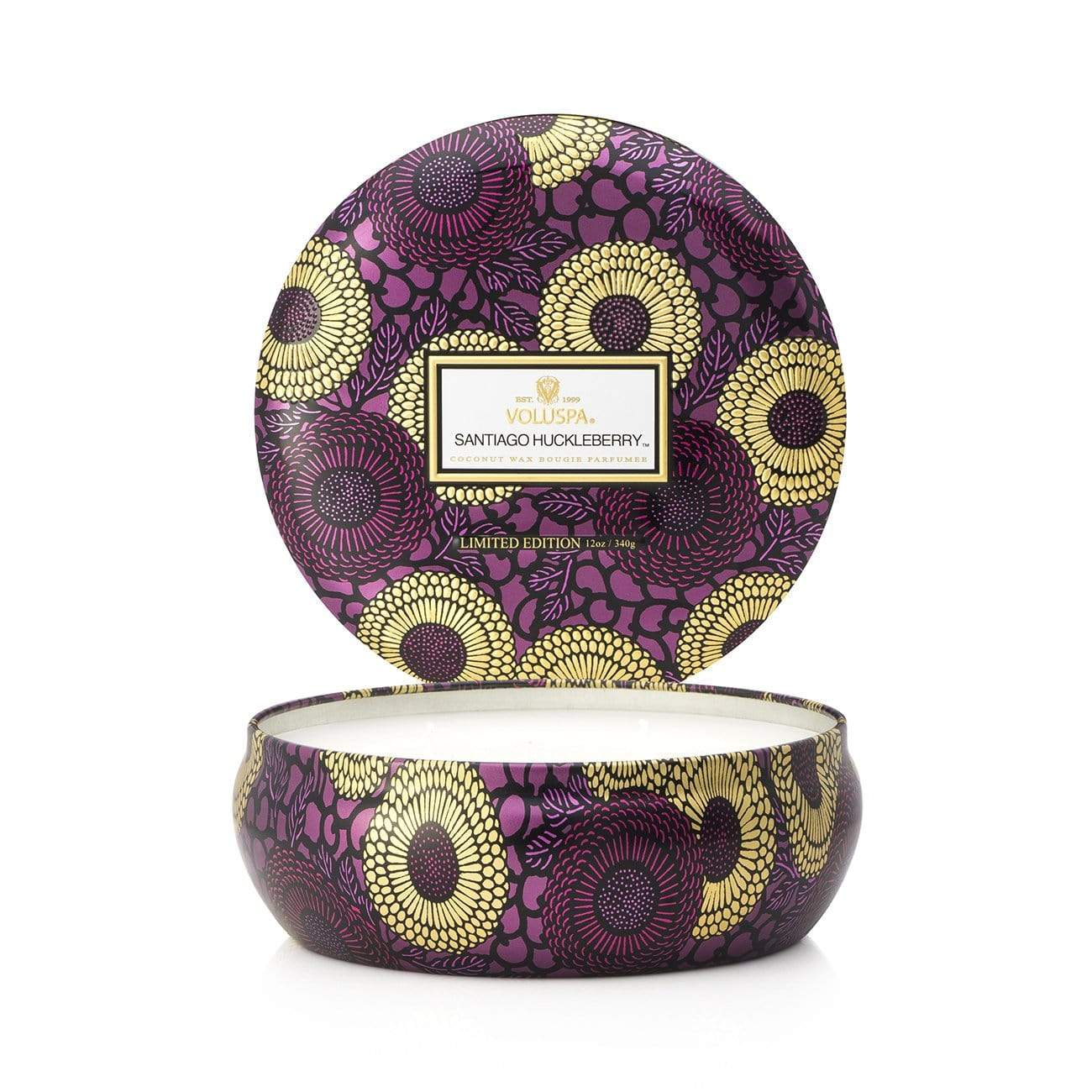 VOLUSPA Santiago Huckleberry 3 Wick Candle