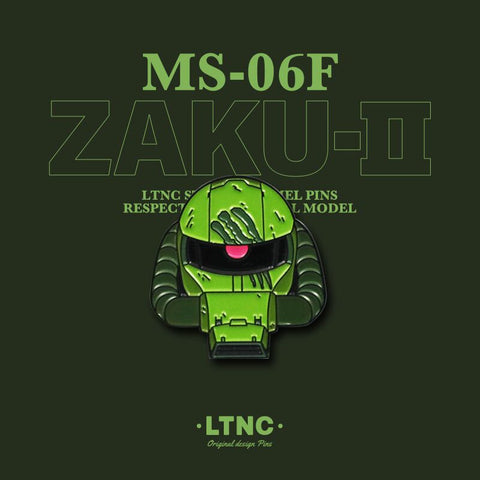 """Zaku Green"" Pin"