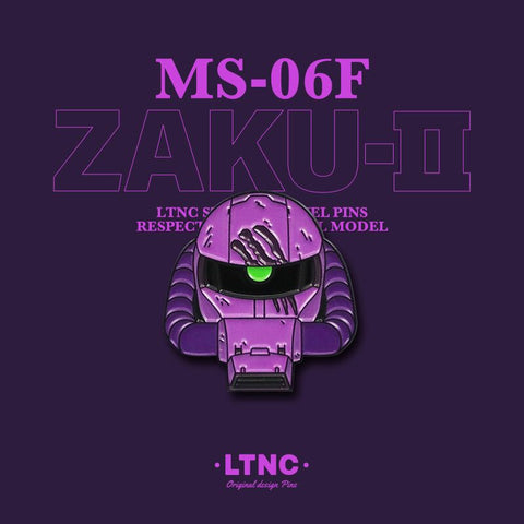 """Zaku Purple"" Pin"