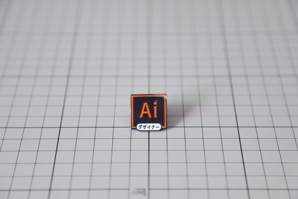 """Ai Icon"" Pin"