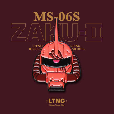"""Zaku Red"" Pin"